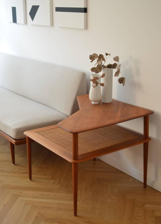 Danish Solid Teak Coffee Table, Hvidt & Mølgaard-Nielsen for France & Søn, 1960s 5