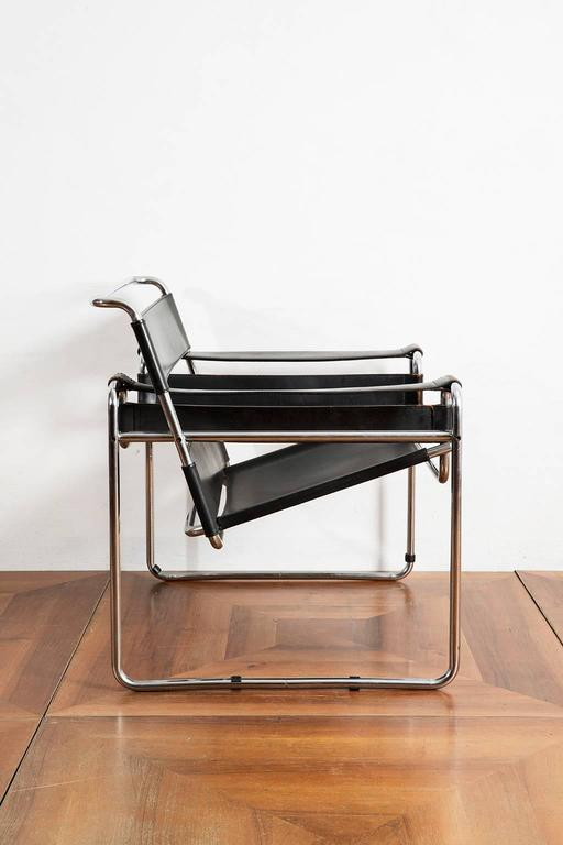 1960s wassily chair by marcel breuer for gavina at 1stdibs. Black Bedroom Furniture Sets. Home Design Ideas