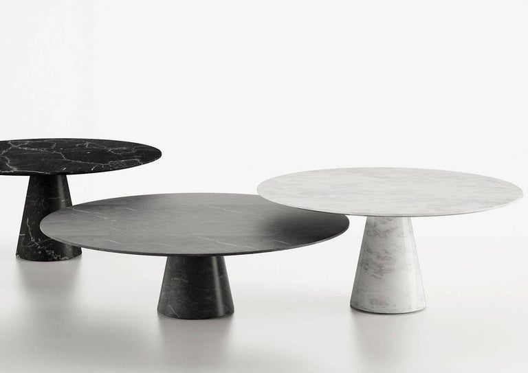 Modern Idee Coffee Table by Christophe Pillet, Quickship Contemporary Marble Table For Sale