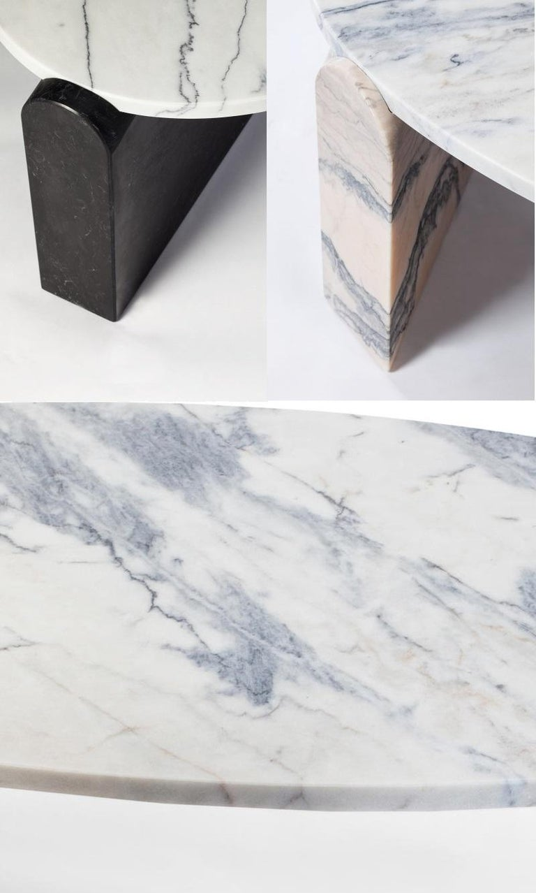 Modern Mua Marble Coffee Table Contemporary Low Center For