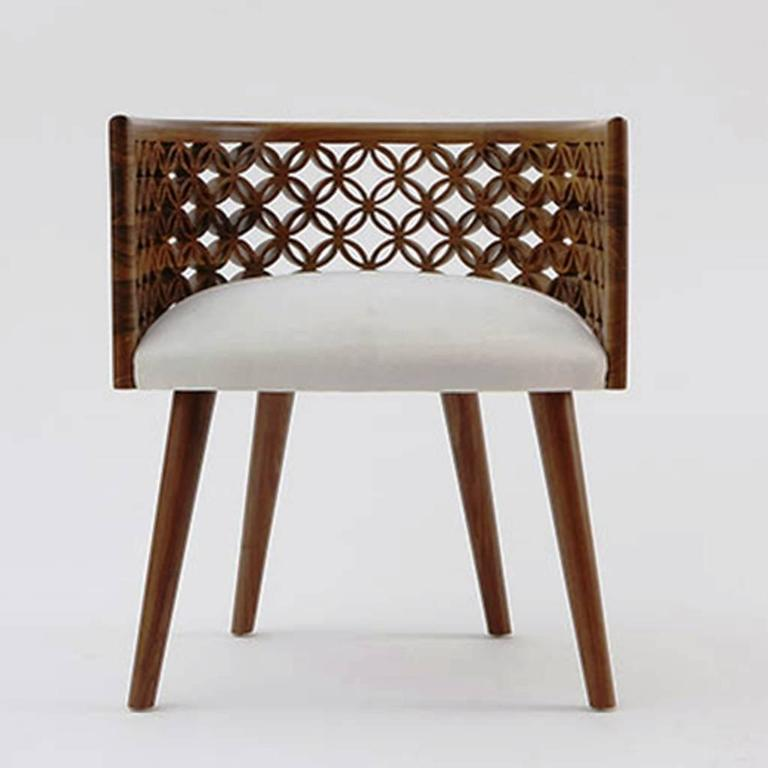 Admirable Arabesque Contemporary Dining Chair By Nada Debs Caraccident5 Cool Chair Designs And Ideas Caraccident5Info