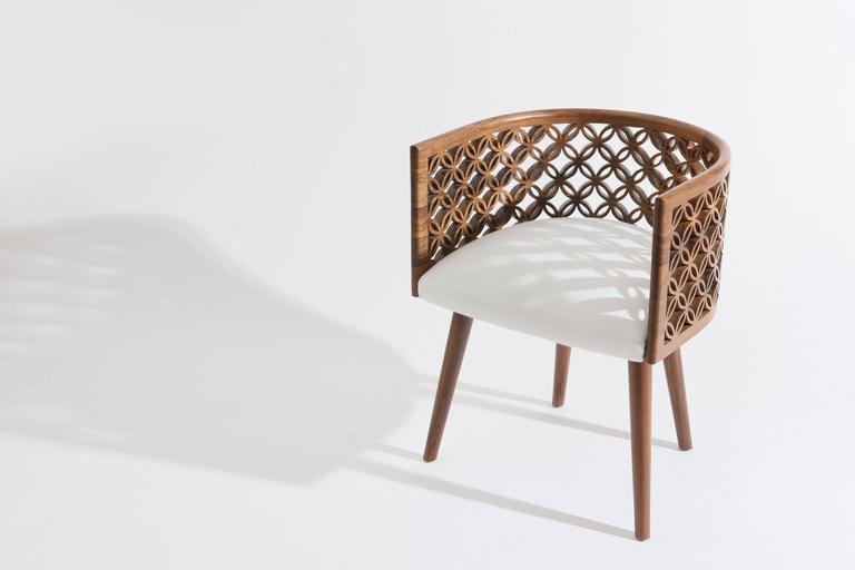 Arabesque, Contemporary Dining Chair by Nada Debs 2