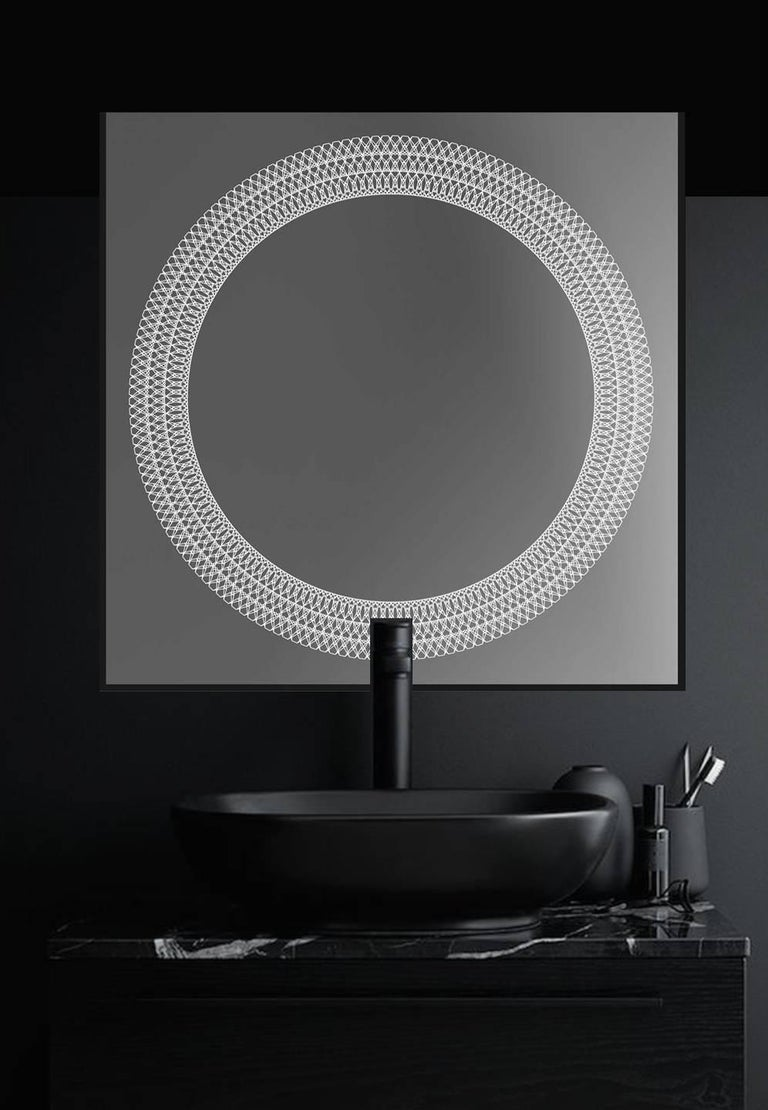 Square Lighted Sikri Mirror For Sale At 1stdibs