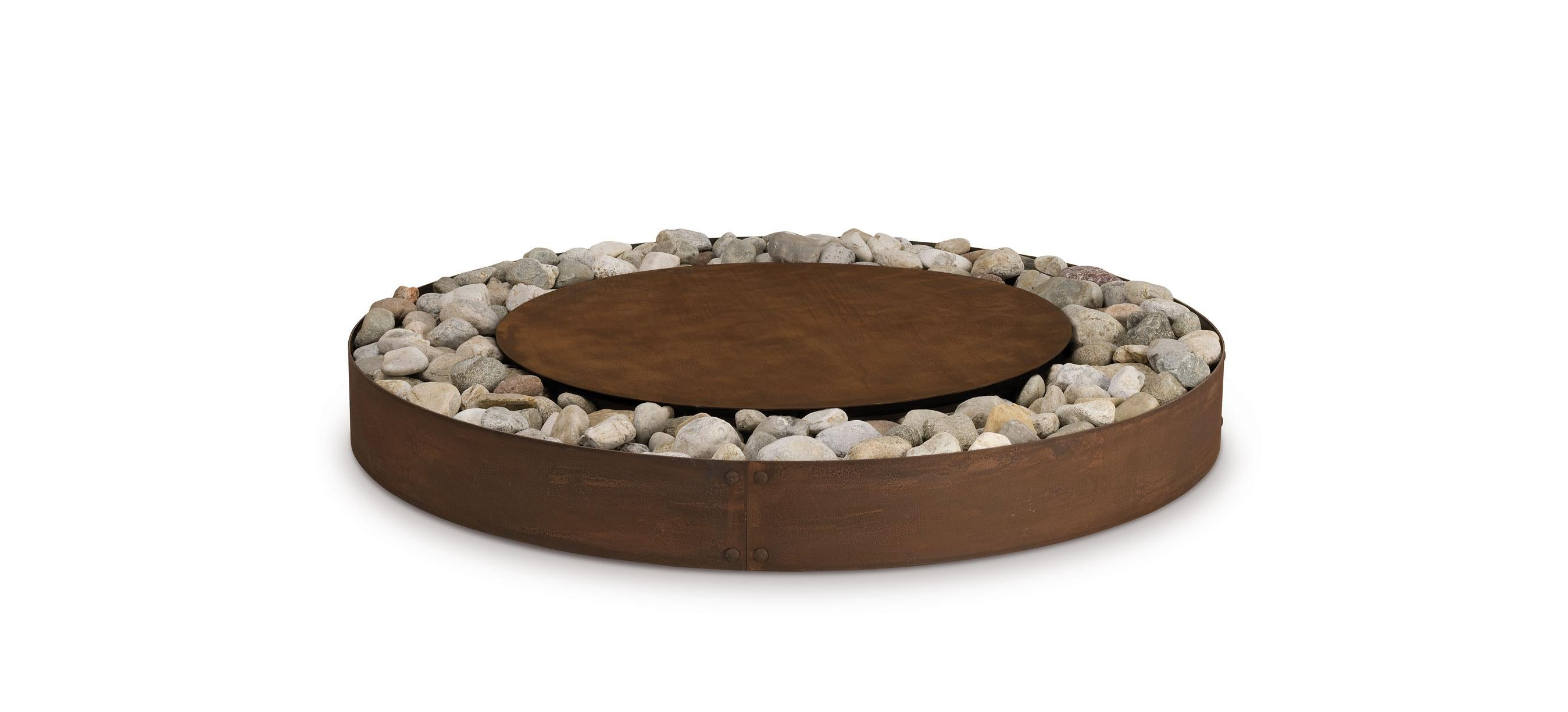 Zen Fire Pit by AK47 Design For Sale at 1stdibs