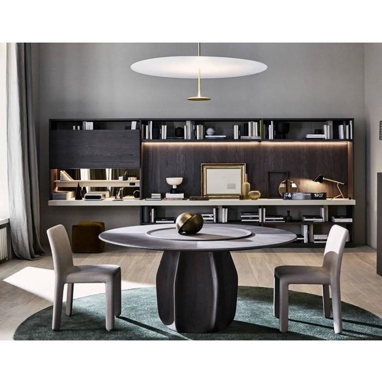 Molteni Asterias Round Dining Table By Patricia Urquiola