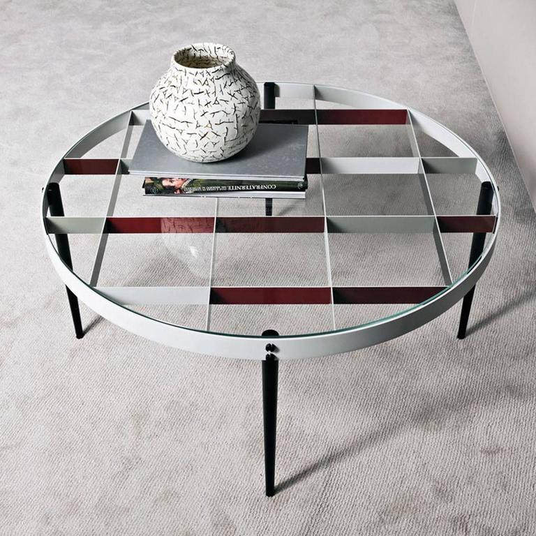 Modern Molteni Gio Ponti D.555.1 Small Coffee Table For Sale