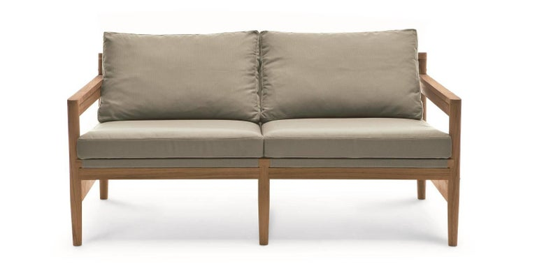 Roda road 142 sofa Overview: Inspired by the 1950s and 1960s Scandinavian furniture designs, Road Collection designed by Rodolfo Dordoni combine design and handcrafting, tradition and technology, have been combined into an innovative project that
