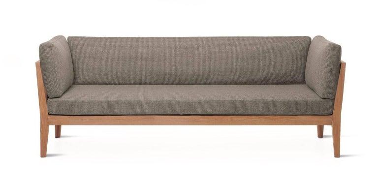 Modern Roda Indoor/Outdoor Teka Sofa Designed by Gordon Guillaumier For Sale