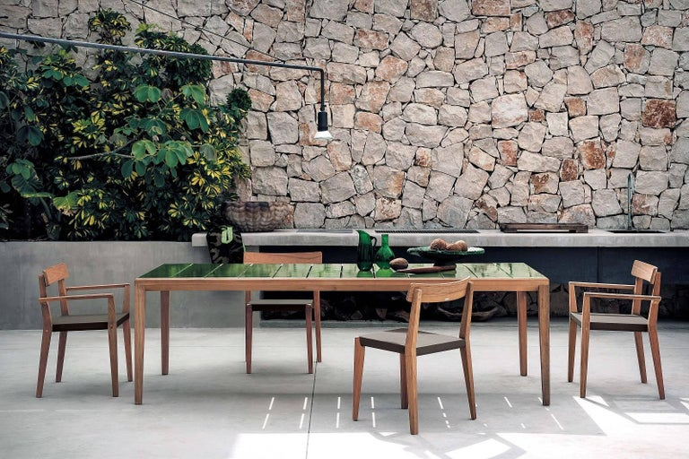 Italian Roda Teka 171 Indoor/Outdoor Stacking Chair Designed by Gordon Guillaumier For Sale