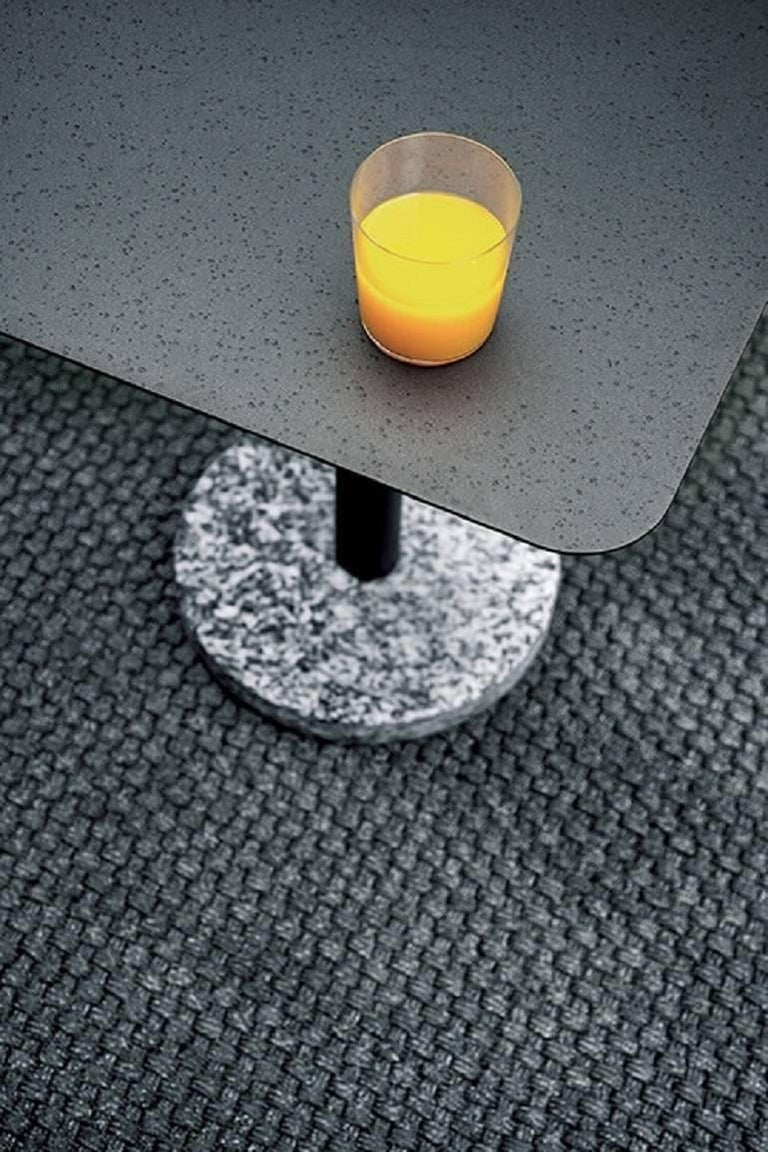 Powder-Coated Roda Indoor/Outdoor Bernardo 353 Side Table designed by Rodolfo Dordoni For Sale