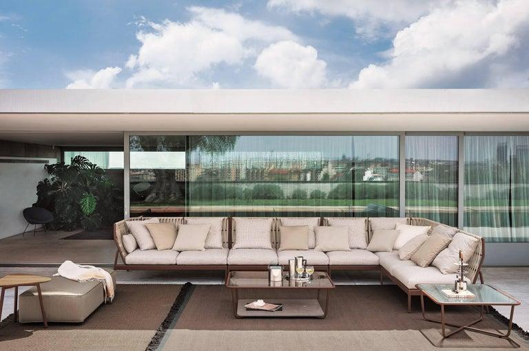 Italian Roda Indoor or Outdoor Piper 103 Sofa Designed by Rodolfo Dordoni For Sale
