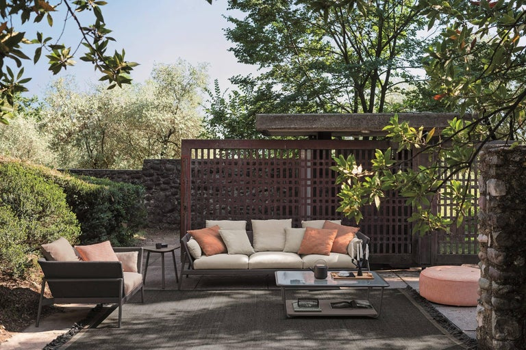 Italian Roda Indoor or Outdoor Piperlow Sectional Designed by Rodolfo Dordoni For Sale