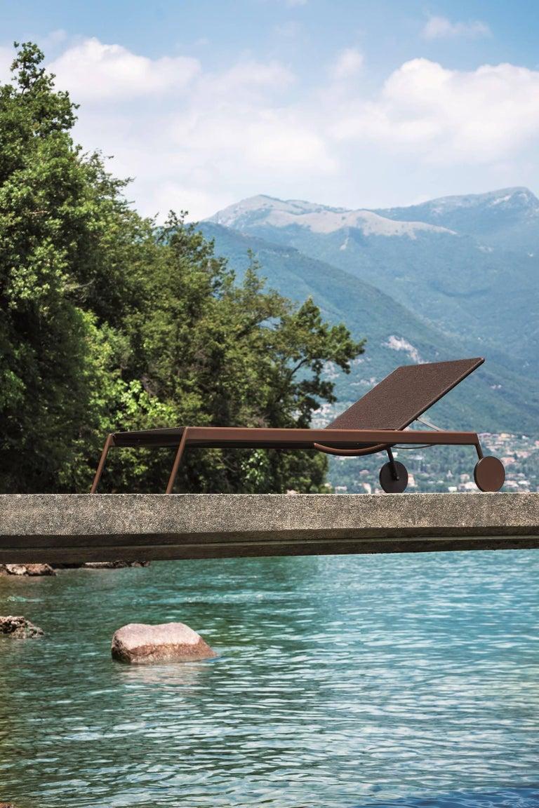 Modern Roda Piper 007 Sunlounger Designed by Rodolfo Dordoni For Sale
