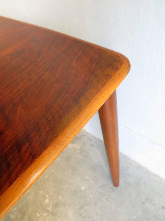 Rosewood Dinning Table with Two Leafs at 1stdibs