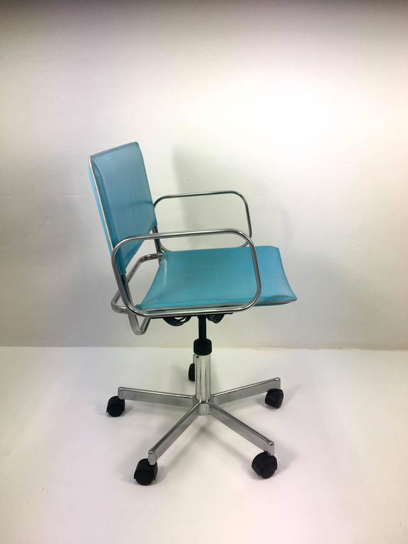 Vintage Zanotta Office Chair 1970s At 1stdibs
