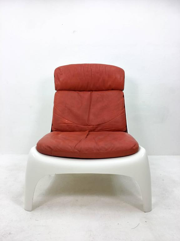 Unknown Futuristic 1970s Lounge Chair For Sale