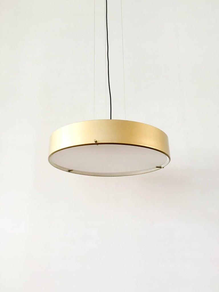 Large Stilnovo Model 288 Pendant Light, 1950s In Good Condition For Sale In Den Haag, NL