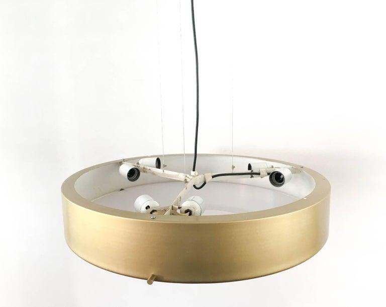 Mid-Century Modern  Large Stilnovo Model 288 Pendant Light, 1950s For Sale