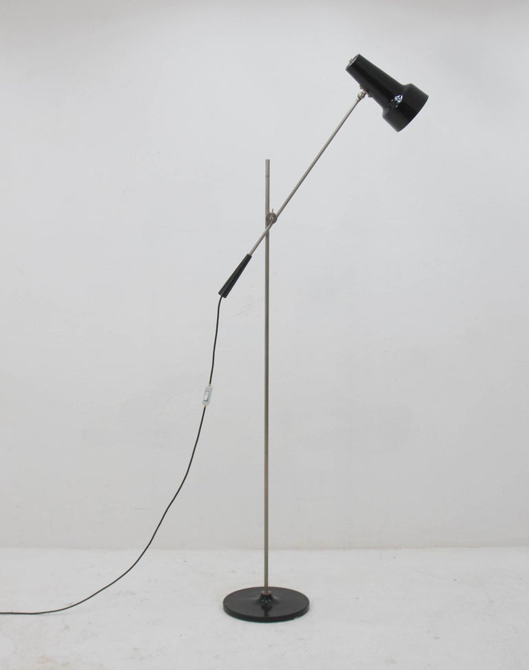 Willem Hagoort Counterbalanced Floor Lamp Early 1960s For