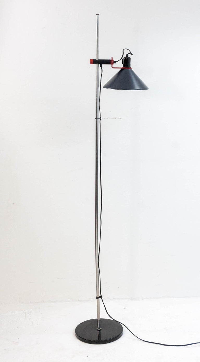 Mid-20th Century Stilnovo Floor Lamp, 1960s For Sale