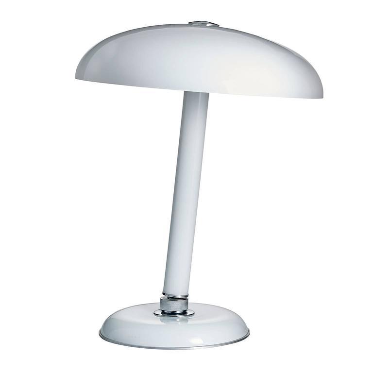 Snodo Carlo Moretti Contemporary Milk White Murano Glass Table Lamp