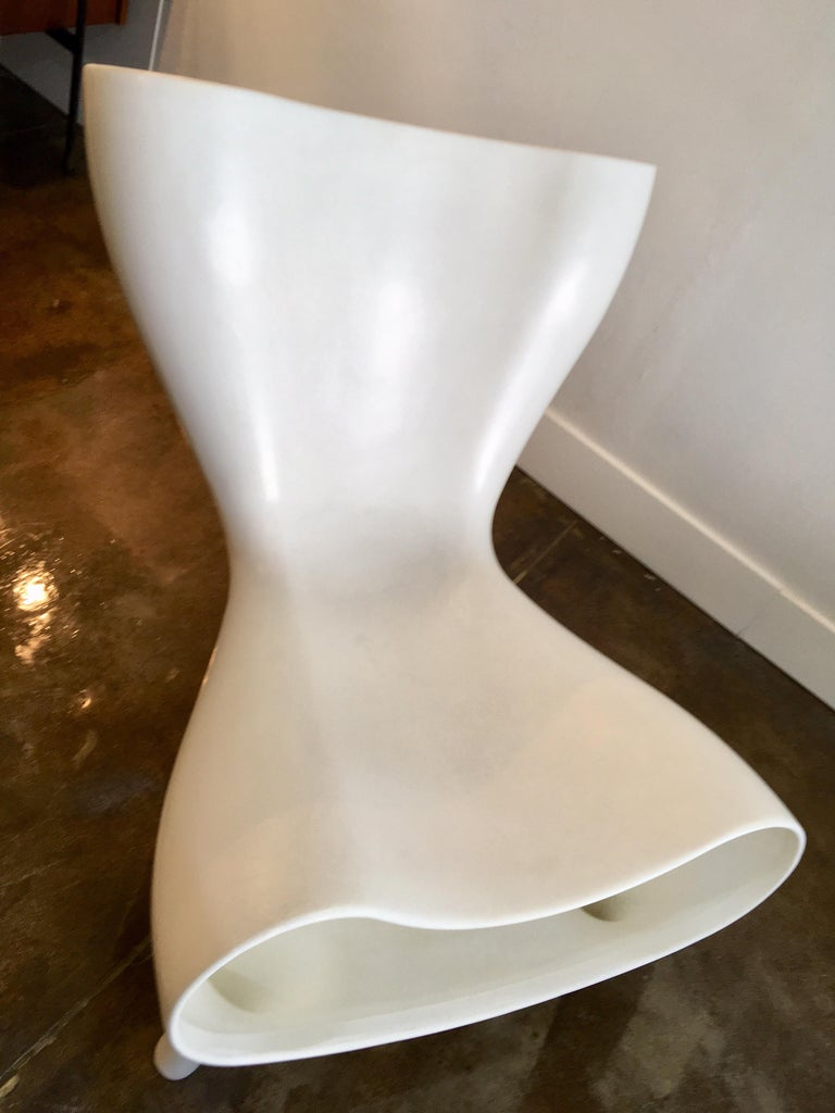 Marc Newson Orgone chair for Cassina, 1998. A sculptural work of art, this chair is a unique chair is a real collector's item.