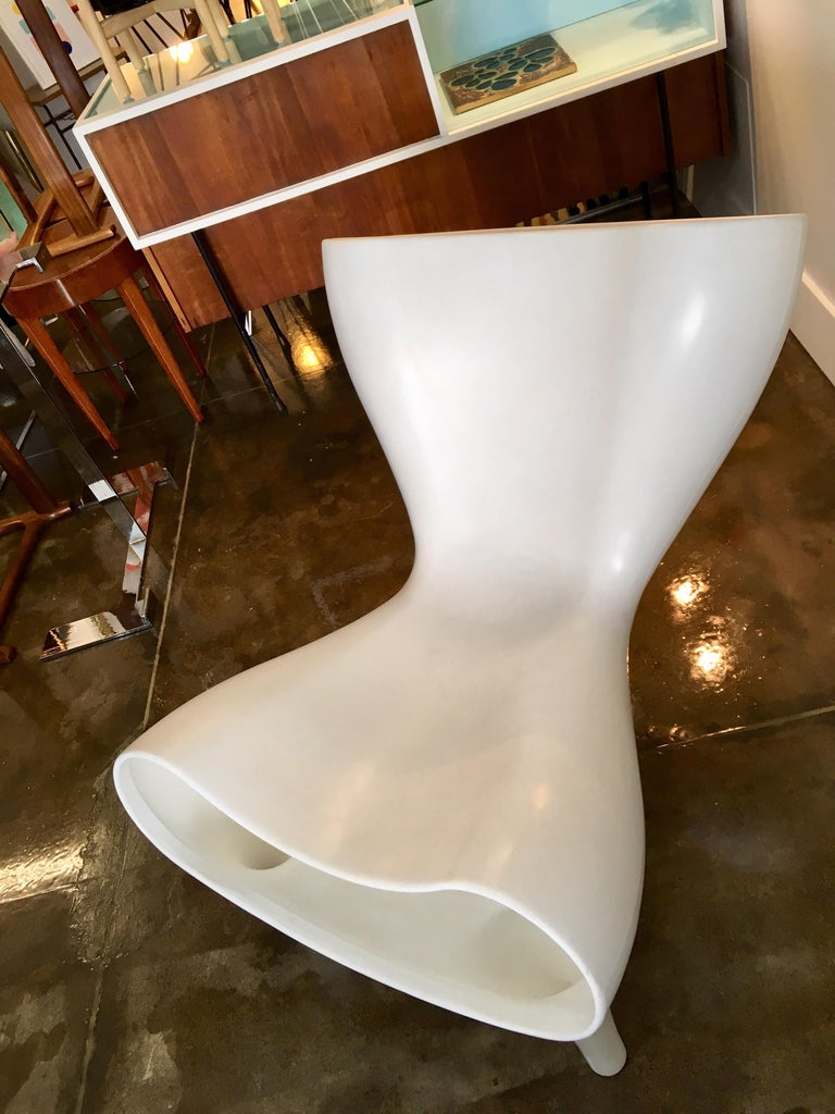 Late 20th Century Marc Newson Orgone Chair for Cassina, 1998 For Sale