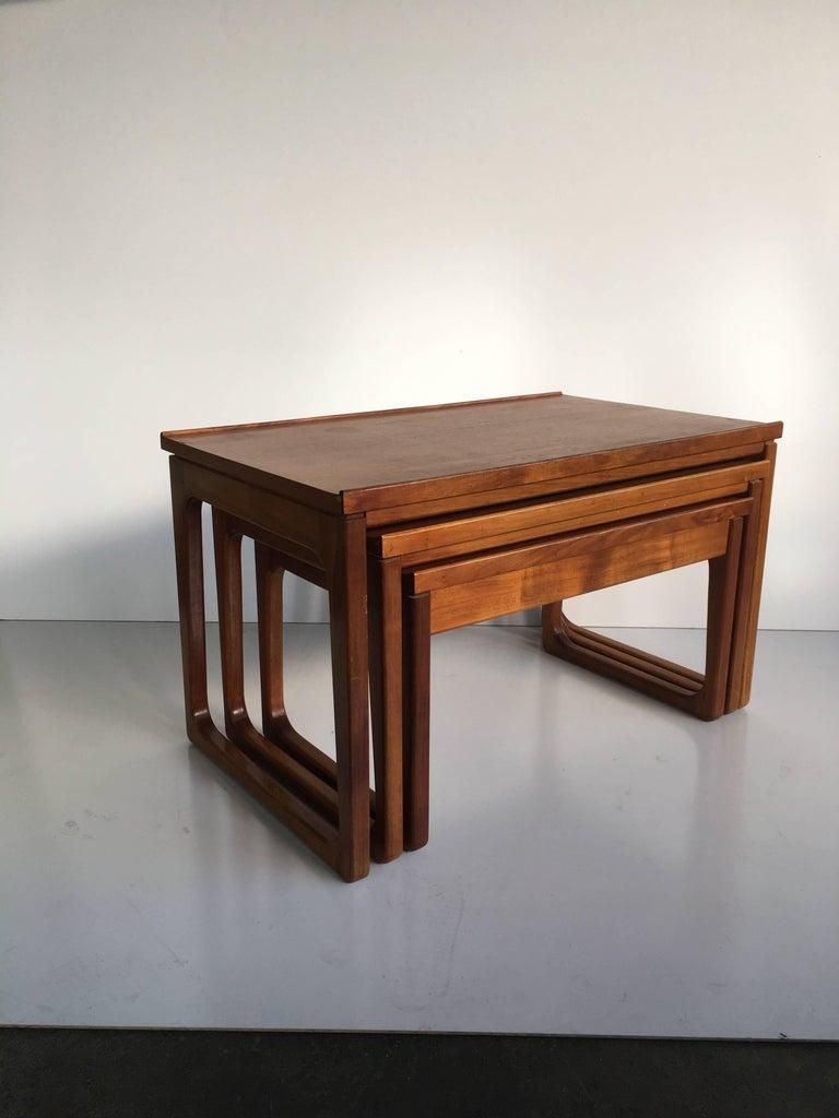 Mid Century Gerald Easden Nest Of Tables For Module 1960s