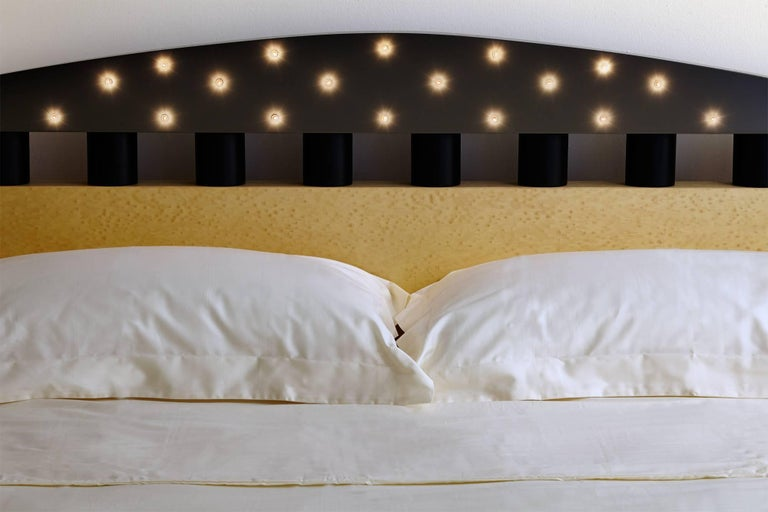 . Stanhope Double Bed Designed by Michael Graves in 1982 for Memphis Milano