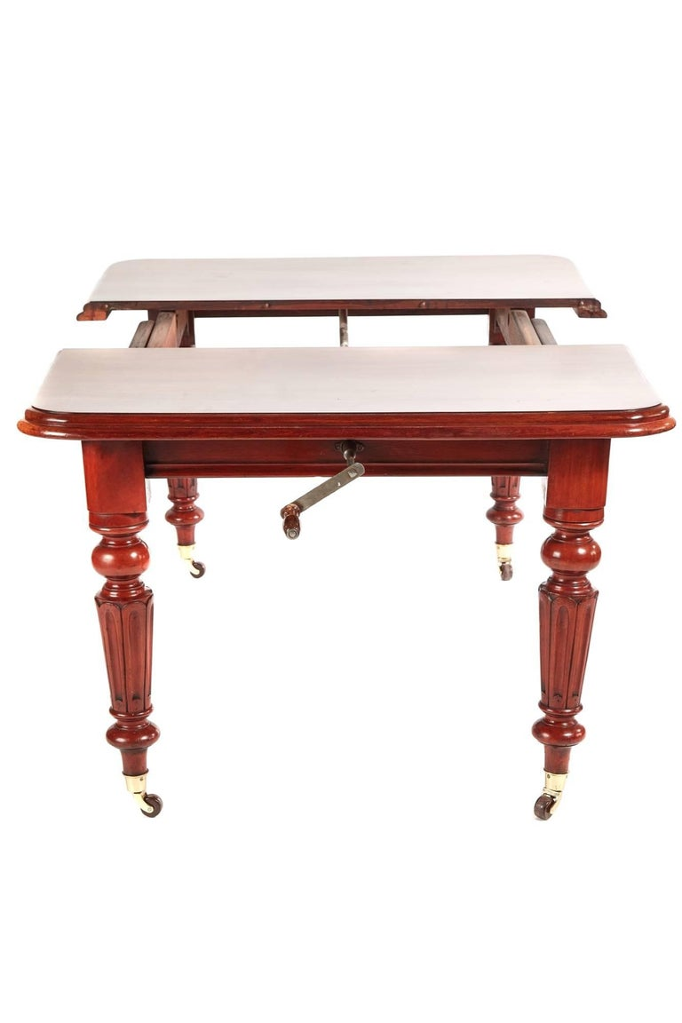 Victorian Mahogany Extending Dining Table For Sale at 1stdibs : 481LEAFTABLE4990master from www.1stdibs.com size 768 x 1152 jpeg 47kB