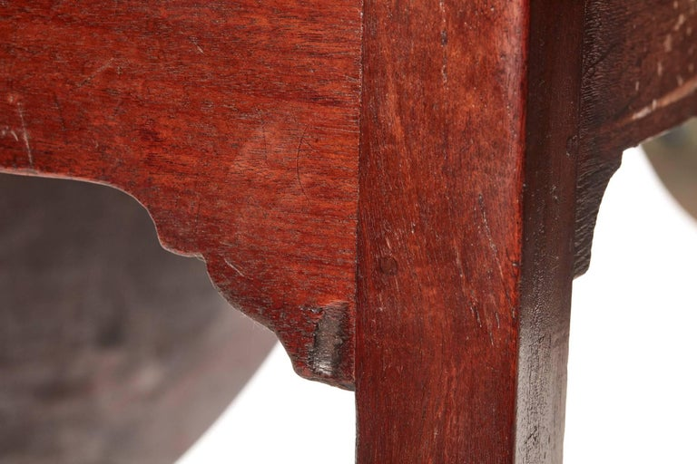 Fantastic Quality Large Georgian Mahogany Dining Table In Excellent Condition For Sale In Stutton, GB