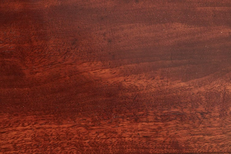 Fantastic Quality Large Georgian Mahogany Dining Table For Sale 2