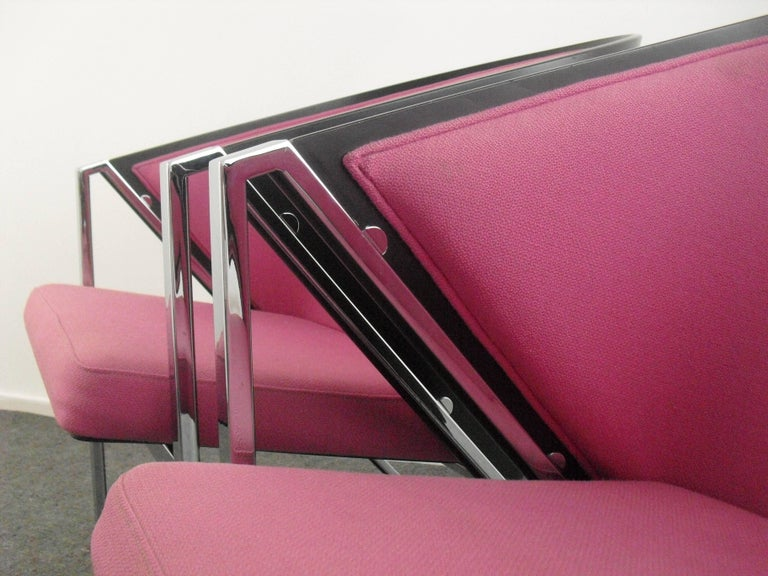 Memphis Style Mondi Soft Chairs By Jouko Jarvisalo For