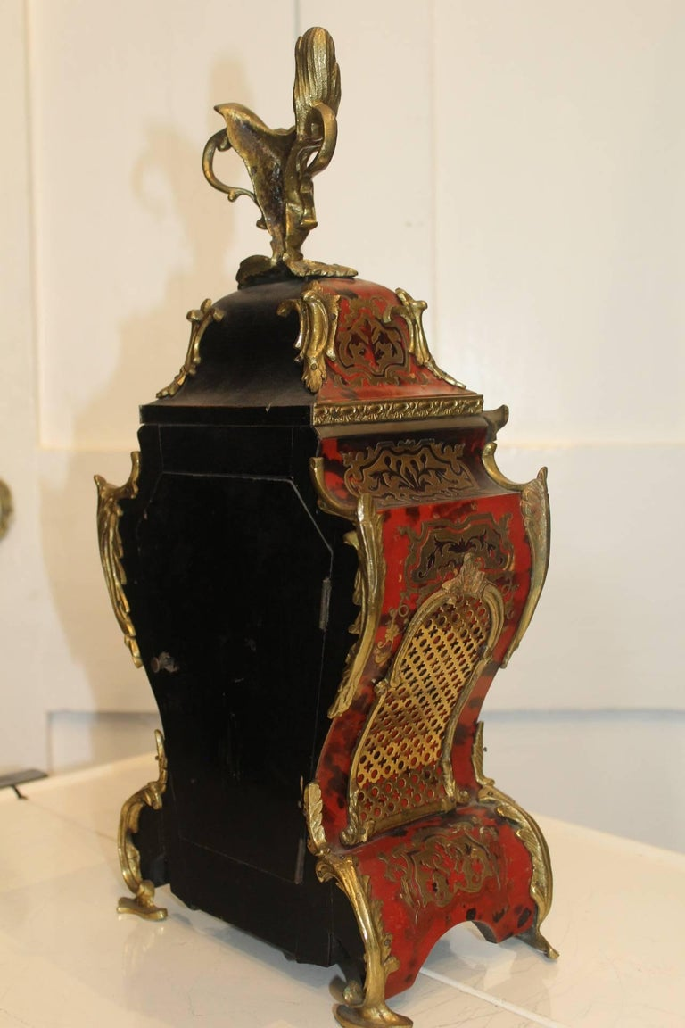 19th century french rococo style mantel clock for sale at for French rococo fashion
