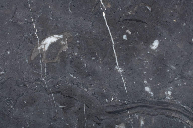 Centerpiece in Black Marquina Marble by Ivan Colominas, Italy, In Stock For Sale 2