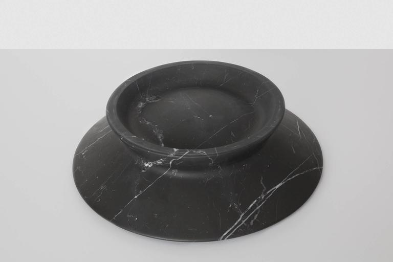 Centrepiece in Black Marquina Marble by Ivan Colominas, Italy For Sale 1