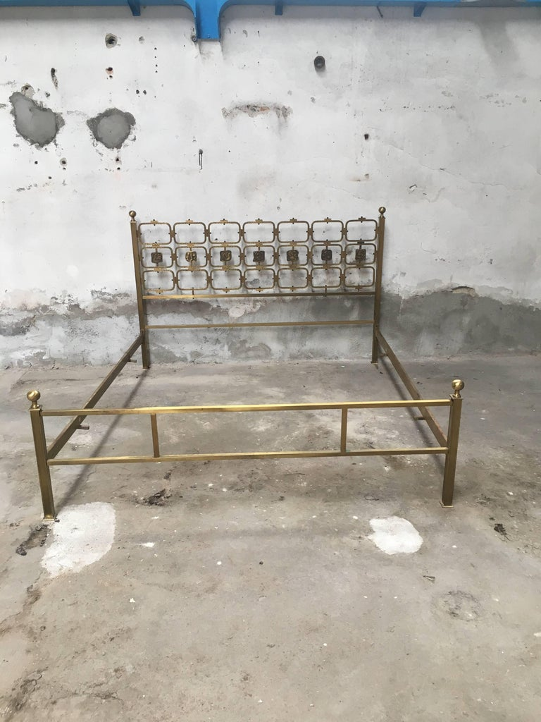 Osvaldo borsani bed italy 1950s at 1stdibs for Aloi arredamenti