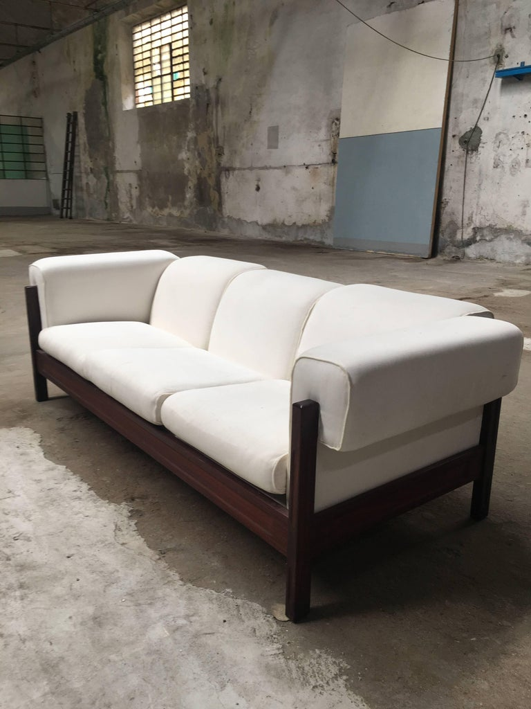 Italian mid century modern set composed by one sofa and for Mid century modern italian furniture