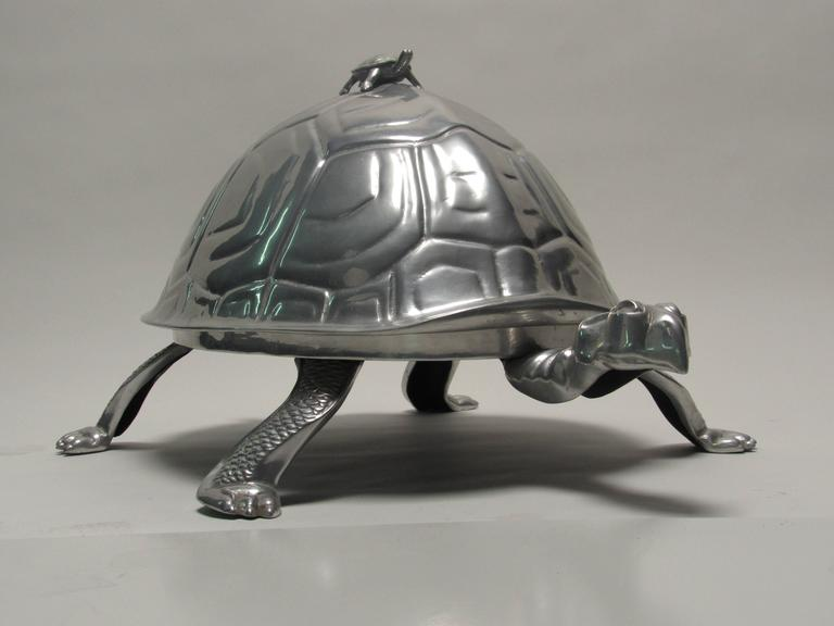 Arthur court beverly hills aluminum turtle carving station