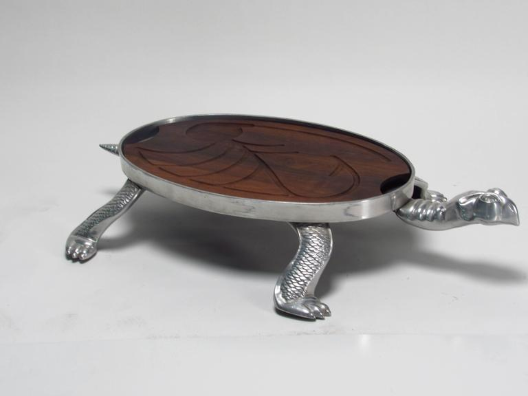 Arthur court beverly hills aluminum turtle carving station