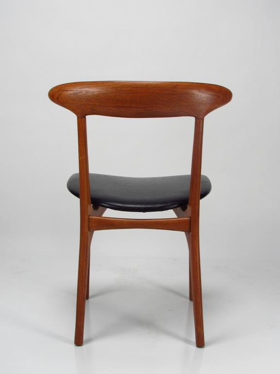 Kurt Østervig Mid Century Modern Danish Chairs In Good Condition For Sale  In Surprise,