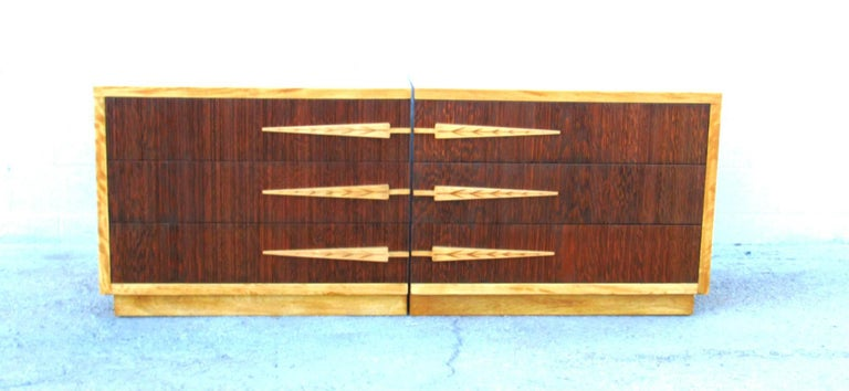 American  Mirror Image Dressers by Modernage  For Sale