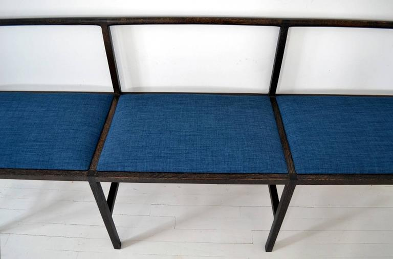 American Westmoreland Bench, Upholstered Bench, Contemporary Modern For Sale