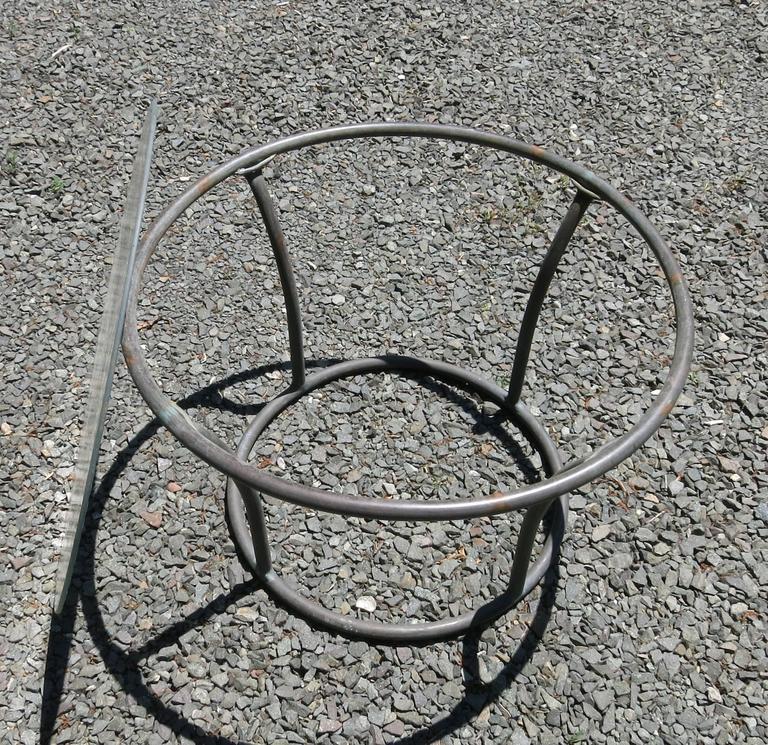 Mid-Century Modern Kipp Stewart for Terra of California Side Table For Sale