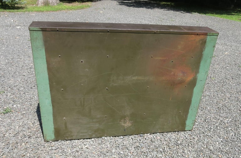 metal storage cubby vintage industrial metal storage cubby at 1stdibs 23290