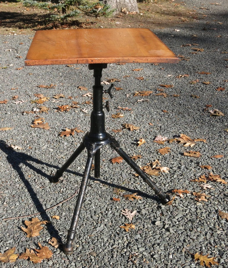 Hoffman Peerless Drafting Table Rochester Ny At 1stdibs