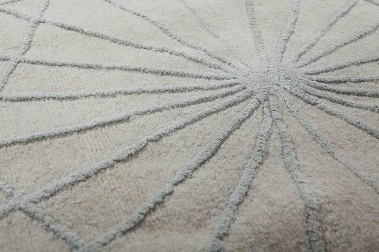 Wool Amaurodes Chernobilis, Hand-Knotted Rug Designed for Nodus by Lanzavecchia + Wai For Sale