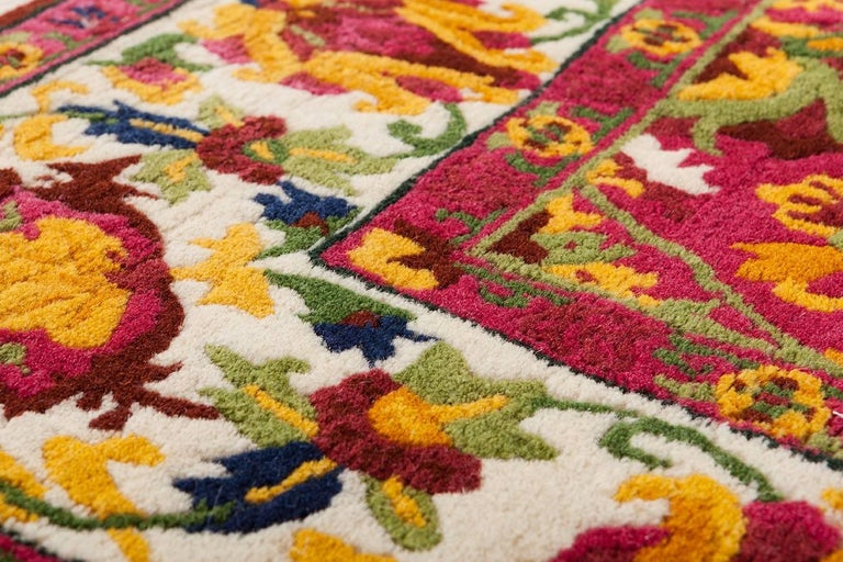 Upsidedown N°1, Hand-knotted Contemporary Rug, Designed for Nodus by Ron Gilad 5