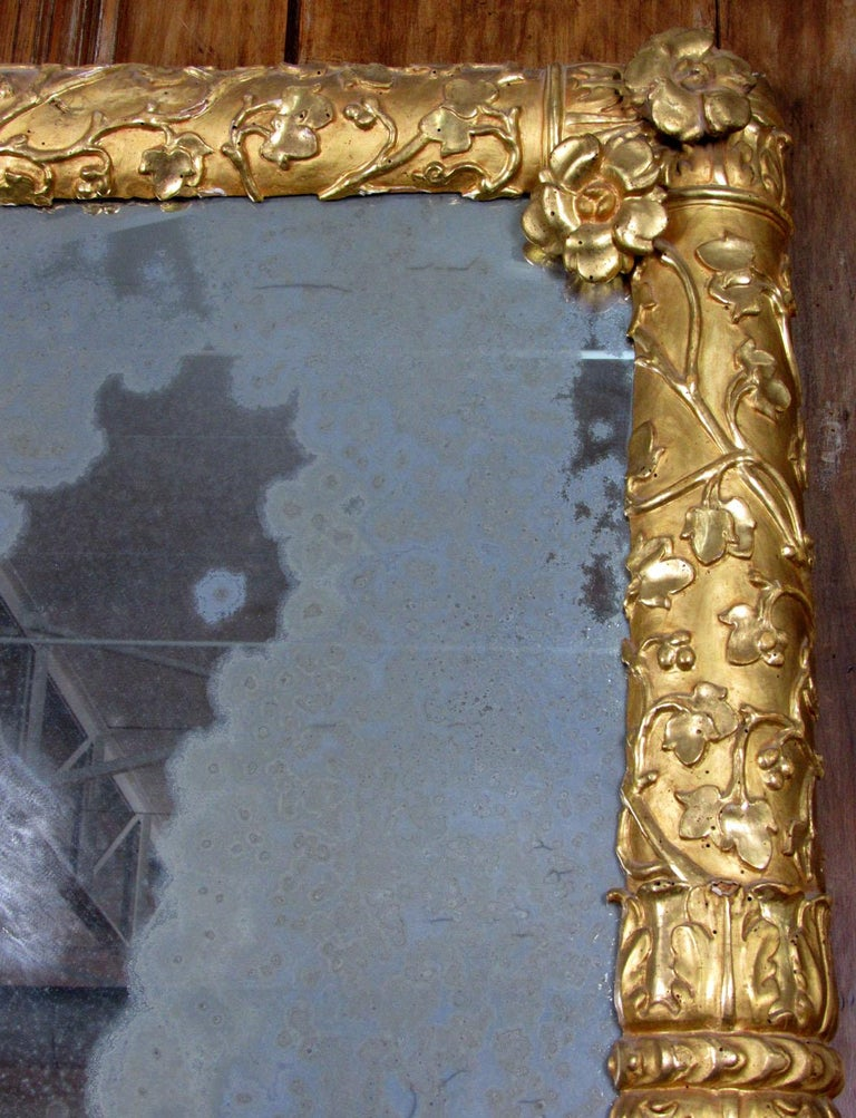 19th Century French Giltwood Mirror For Sale 5