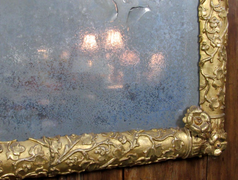 19th Century French Giltwood Mirror For Sale 9
